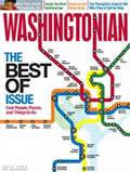 July, 2009 Washingtonian cover